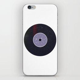 Vinyl Record Star Sign Art | Sagittarius iPhone Skin