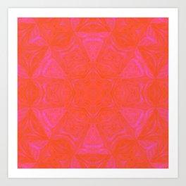 Pink day Art Print