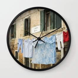 Campo ruga Wall Clock
