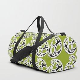 MAD HUE AOTEAROA Green Duffle Bag