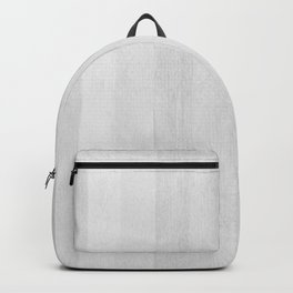 Gray Stripe Pattern Backpack