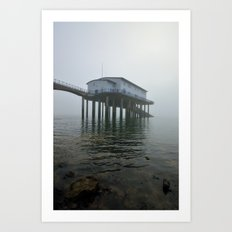 Roa Island Lifeboat Station Art Print