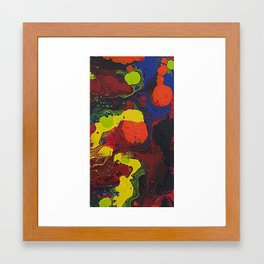 Abstract Colibrii. Framed Art Print
