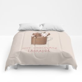 Hot Chocolate Labrador Comforters