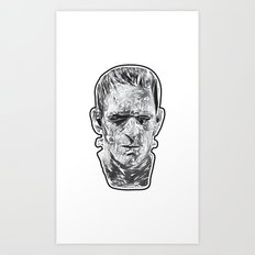 The Fractured Prometheus Art Print