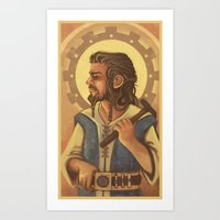 thorin Art Prints featuring Thorin by MelColley