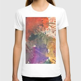 Red and Violet T-shirt