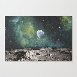 FLOATING THROUGH SPACE Canvas Print