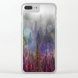 Four Seasons Forest Clear iPhone Case