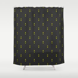 Electro : Switch Shower Curtain