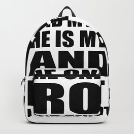 God Is My Rock Backpack