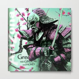 Arizona Samurai Aesthetics Metal Print