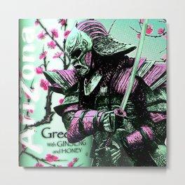 Arizona Samurai Aesthetics Metal Print