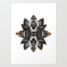 FLWR2 Art Print