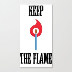 Keep the Flame Canvas Print