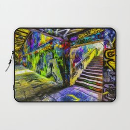 London Graffiti Van Gogh Laptop Sleeve