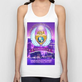 Humans United for Peace Unisex Tank Top