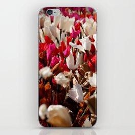 Paper flowers iPhone Skin