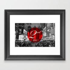 2nd Chance Framed Art Print