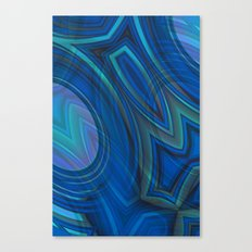 Mood Ring in Blues Canvas Print