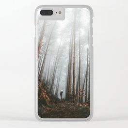 The Bewitching Woods Clear iPhone Case