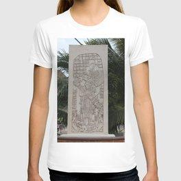 Coba Maya Stele Art Yucatan T-shirt