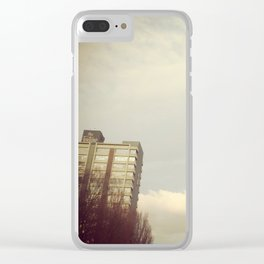 The Fontaine Clear iPhone Case