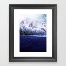 Inquisitive Huntress Framed Art Print
