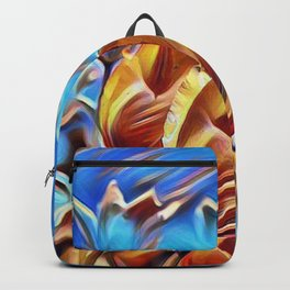 Abstract Tulips Backpack