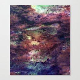 Space Algae Canvas Print