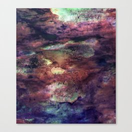 Space Algae Canvas Print