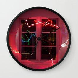 Window frame Wall Clock