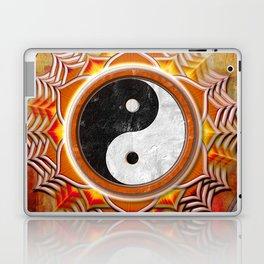Yin Yang - Healing Of The Orange Chakra Laptop & iPad Skin