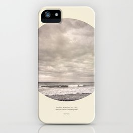 love the sea.... iPhone Case