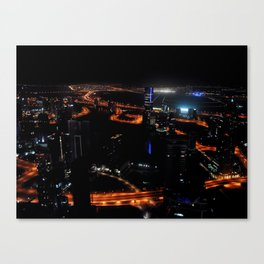 View from the JW Marriott Marquis Dubai Hotel Canvas Print