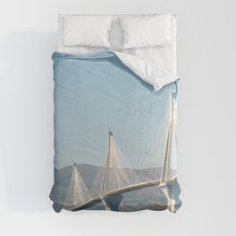 Rio Antirrio Bridge Comforters