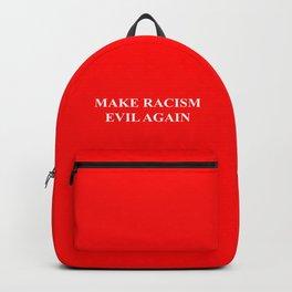 Make Racism Evil Again Backpack