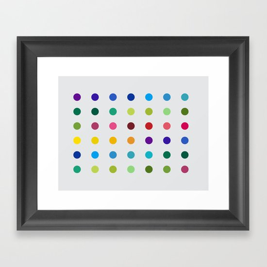 Geometric - Landscapes 3/4 Framed Art Print