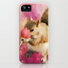 Take Time to Smell the Flowers iPhone Case