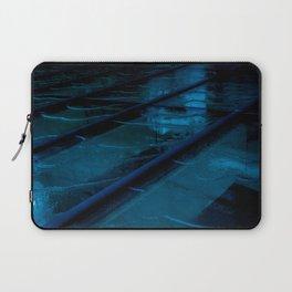 Blue Glass Waterfall Laptop Sleeve