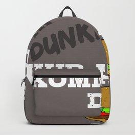 Lustiger Satz witziger Spruch - Komm auf die dunkle Seite  Backpack
