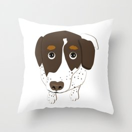 Sad Bullett Throw Pillow