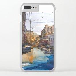 Urban Street Clear iPhone Case
