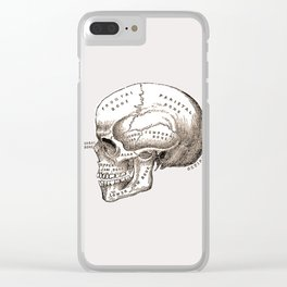 Can't get you out of my head vintage illustration Clear iPhone Case