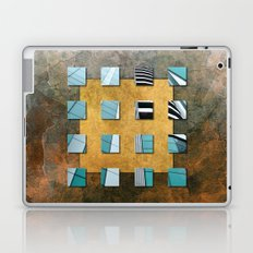 SQUARE AMBIENCE - Natural Lines Laptop & iPad Skin