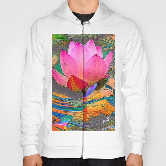 """ The ideas are seeds of lotus, they sleep only to grow better "" Hoody"