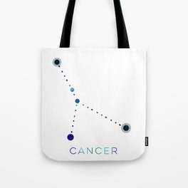 CANCER STAR CONSTELLATION ZODIAC SIGN Tote Bag