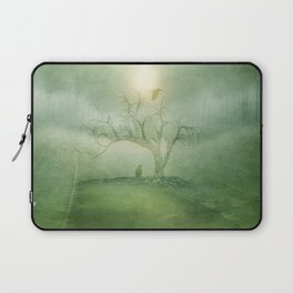 Greenery Sunrise Laptop Sleeve