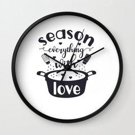 kithen shif Wall Clock