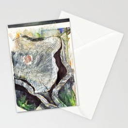 Textured Wood Stationery Cards